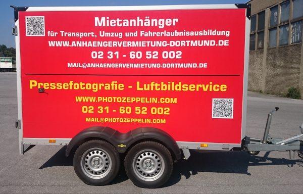 Mietanhänger L Koffer 2.5t