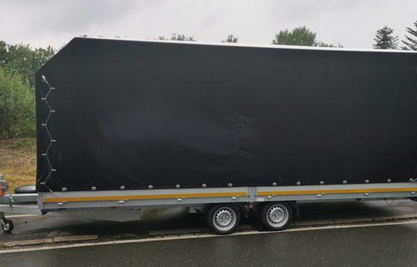 Mietanhänger 3XL 3.0t / Universaltransporter / Autotrailer Plane